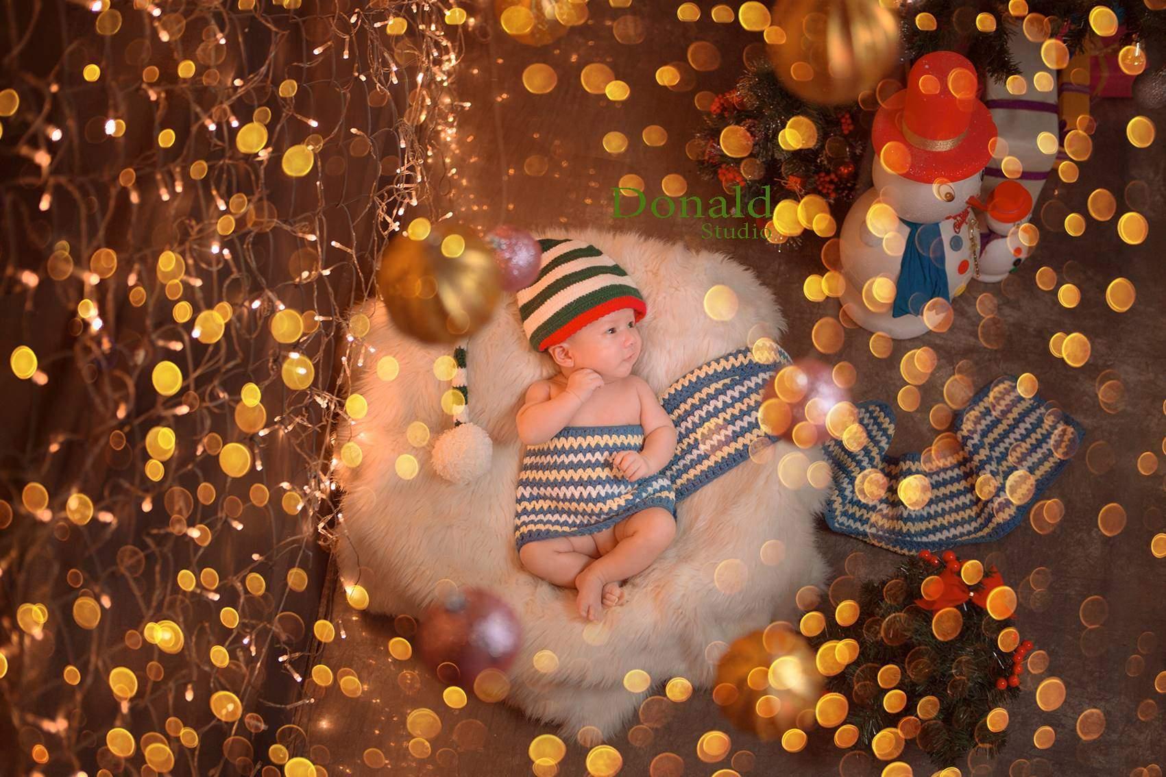 Chụp ảnh giáng sinh cho bé yêu