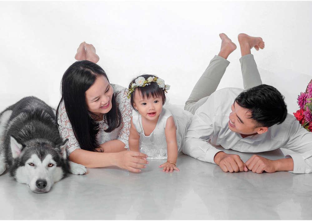 Chụp ảnh cho bé và gia đình giá rẻ tphcm