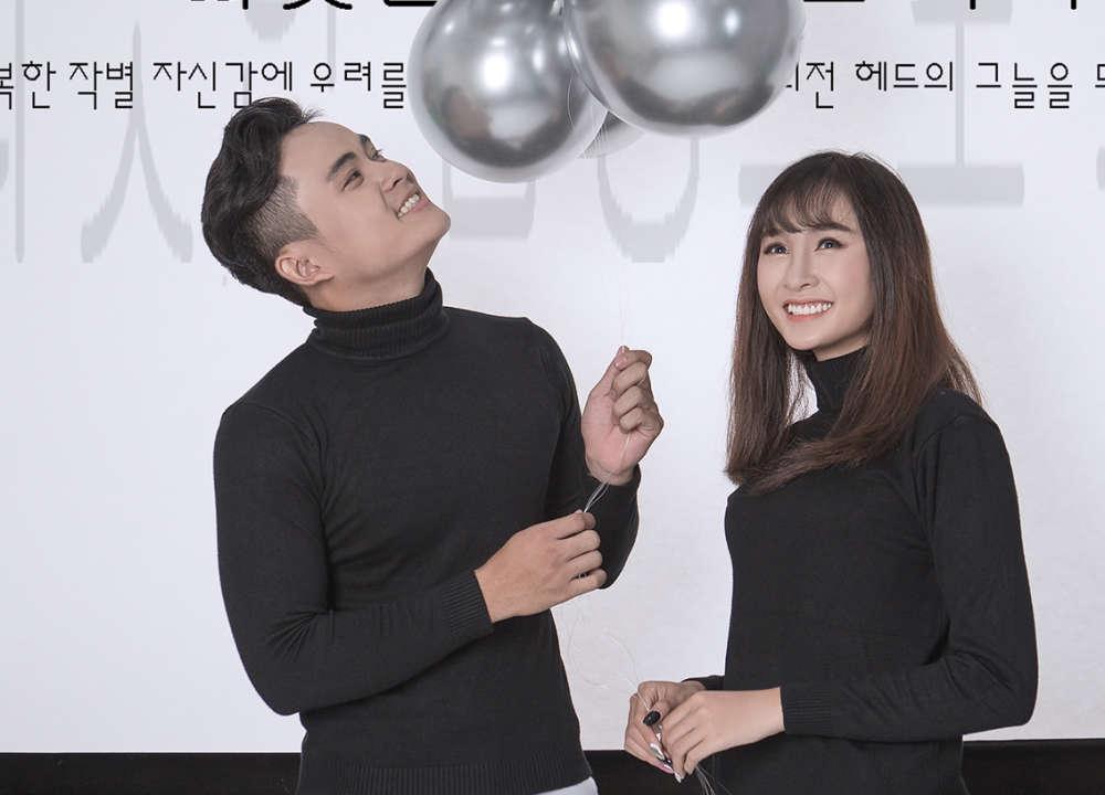chụp ảnh cưới với phong cách Hàn Quốc