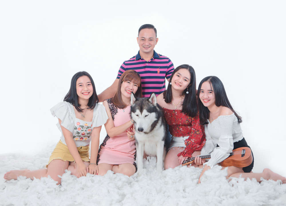 chụp hình gia đình giá rẻ tại Sài Gòn