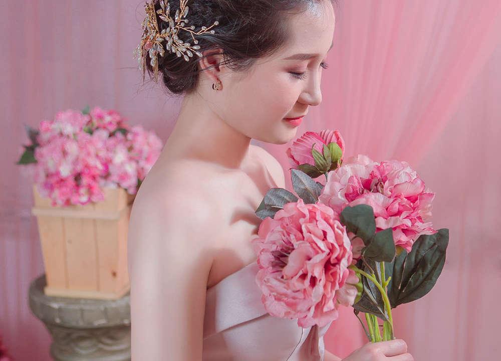 chụp hình cô dâu đơn