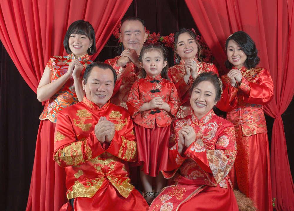 chụp hình gia đình tại Sài Gòn