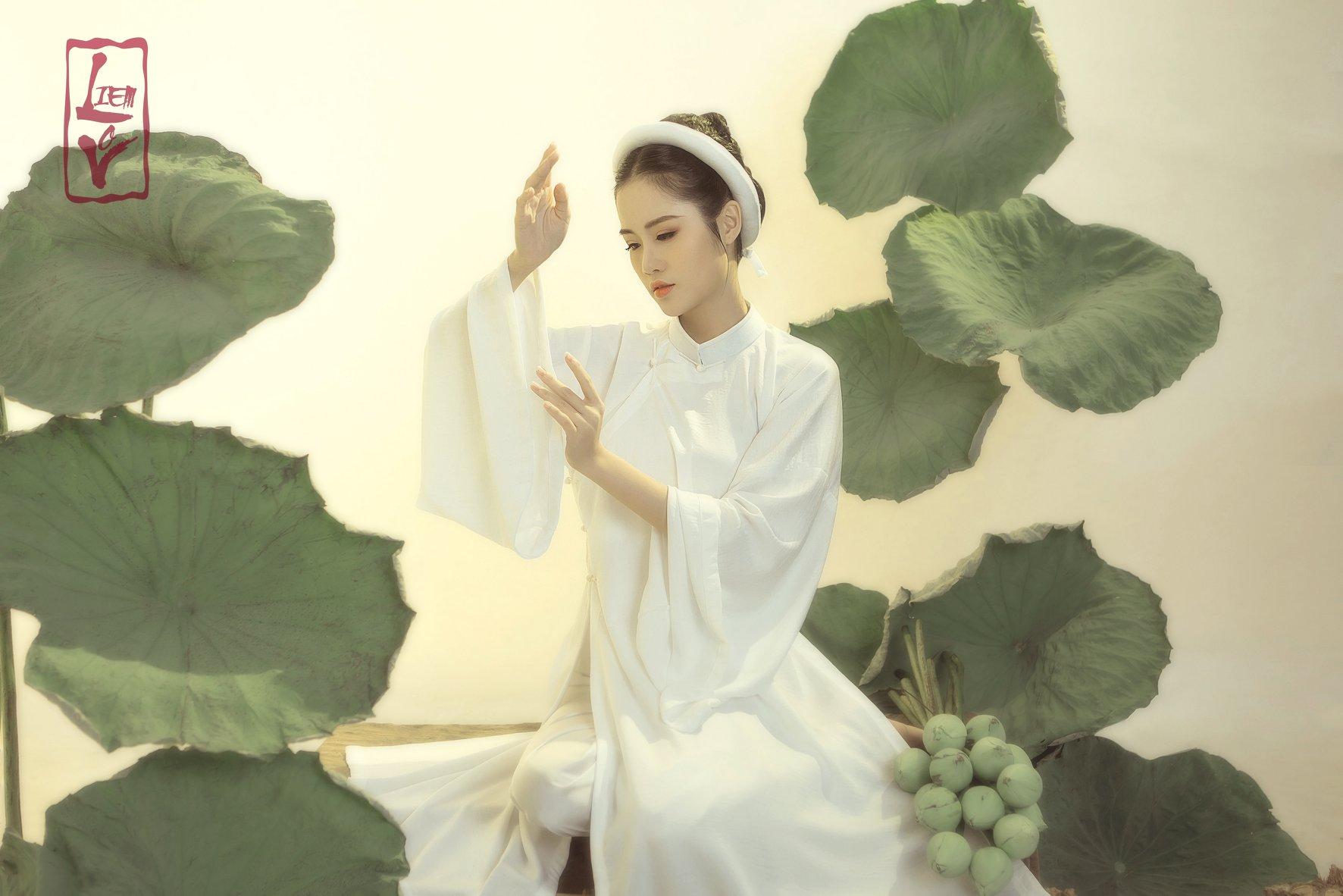 Chụp ảnh áo dài Việt Phục