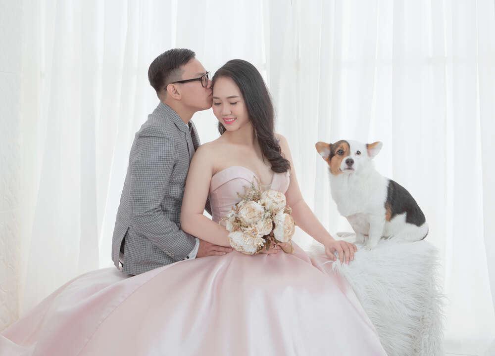Chụp ảnh cưới Hàn Quốc tại studio HCM