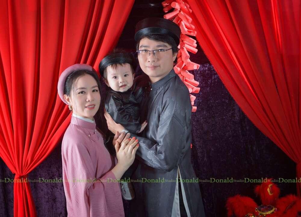 Chụp ảnh tết cho bé và gia đình tại hcm