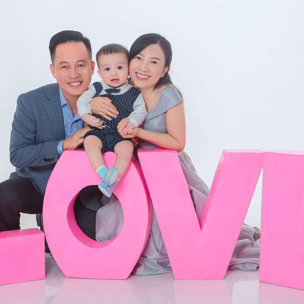 Chụp hình cho bé và gia đình tại hcm